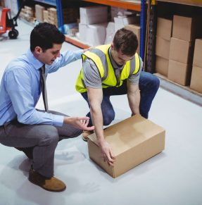 box handling demonstration